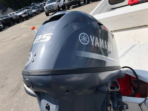 2015 Carolina Skiff 16 DLX With 25 Hp Yamaha Four Stroke Eng  for Sale $10,800