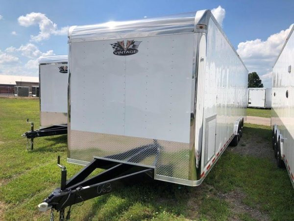 2020 Vintage 34' Race Car Trailer - Sportsman Edition