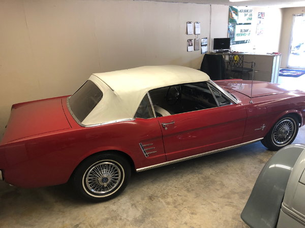 1966 Ford Mustang  for Sale $31,250
