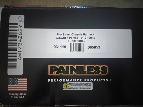 painless wiring harness pro street for sale in league city, tx, price $550 Mustang Wiring Harness