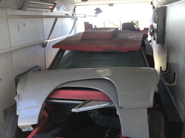 1968 Plymouth Satellite Drag car FS/FT