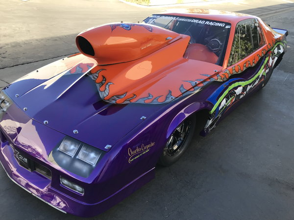 1992 Tube Chassis Camaro  for Sale $30,000