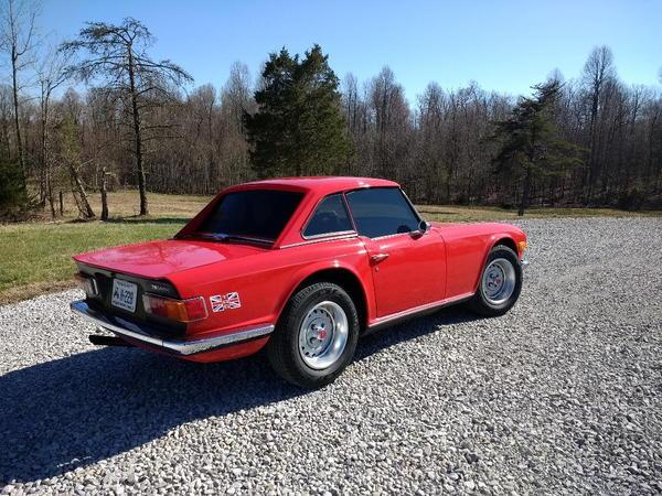 1974 Triumph TR6  for Sale $19,000