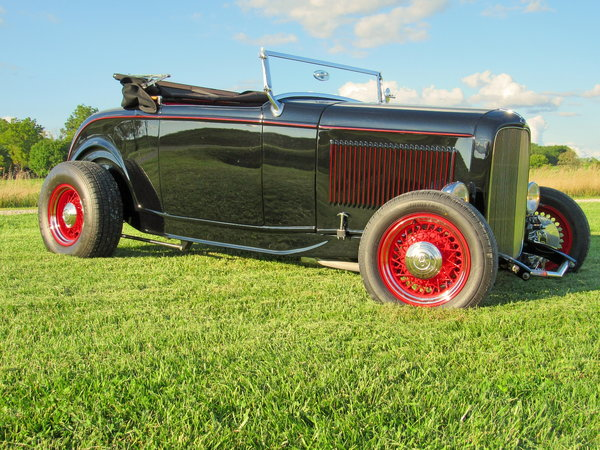 1932 Ford Hi Boy Roadster--Iconic & Excellent