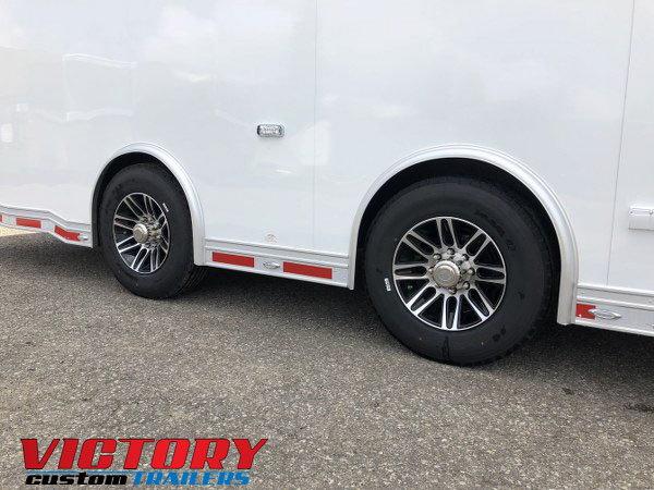 2019 InTech 38' Aluminum Gooseneck Sprint Car Trailer
