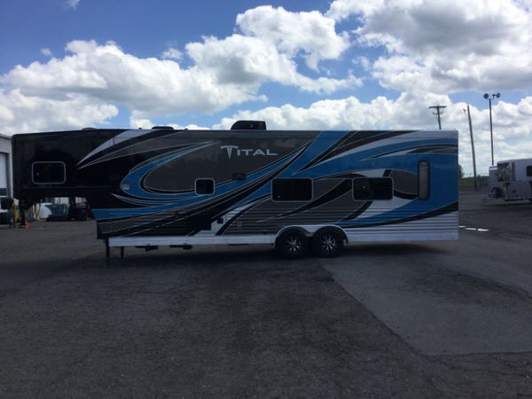 2018 SIERRA GOOSENECK  Toy Haulers with Living Quarters   for Sale $67,990