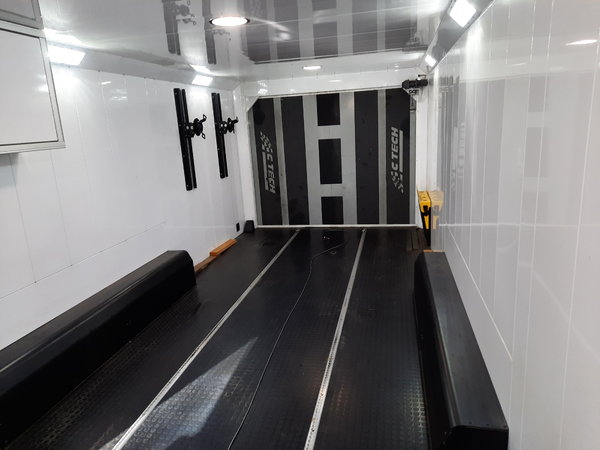 2017 Ctech 28' or 30' Enclosed Aluminum Tag Trailer  for Sale $39,000