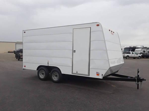 2019 Carson EN Wide Body 16' Car Hauler Bumper Pull  for Sale $5,776