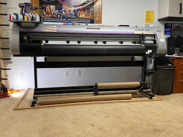 Mimaki Graphics Printer/cutter  for Sale $5,800