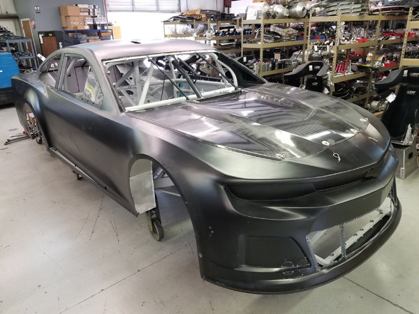 RCR Monster Cup Chassis & Camaro Body