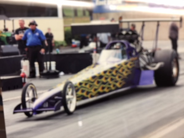 Dan Page  Top Dragster roller