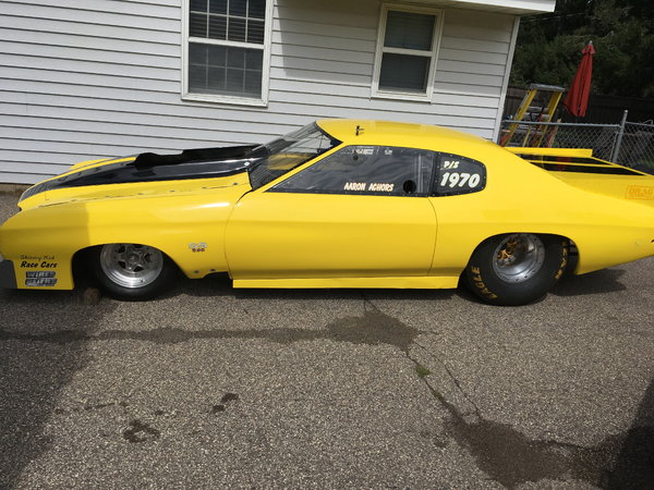 70 chevelle pro mod roller  for Sale $35,000