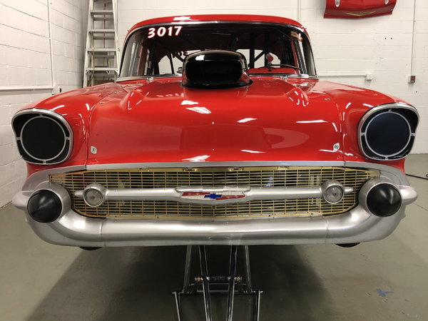 1957 Bel Air drag car - Price Reduced  for Sale $75,000