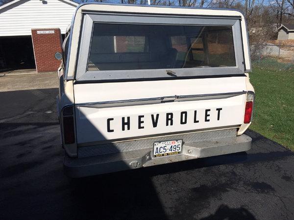 1968 Chevrolet C10 Pickup  for Sale $25,000