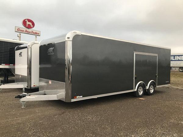 2019 ATC Raven 24ft Enclosed Car Hauler Trailer
