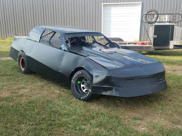 Allen chassis race ready, minus engine