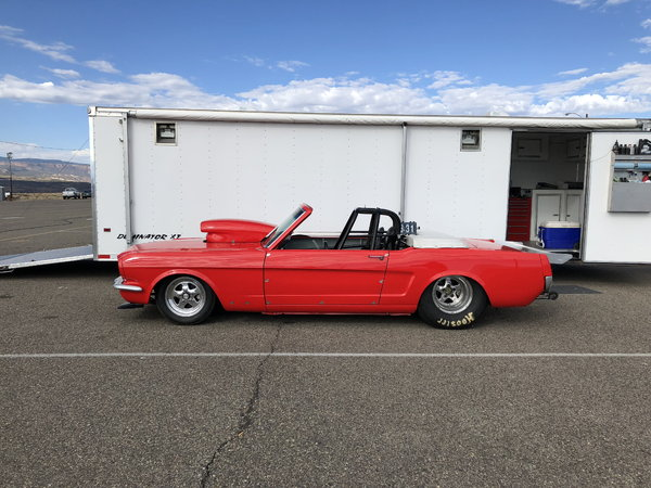 66 Mustang convertible Roadster  for Sale $32,000