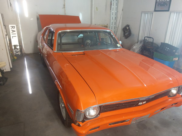 chevrolet nova door car  for Sale $13,000