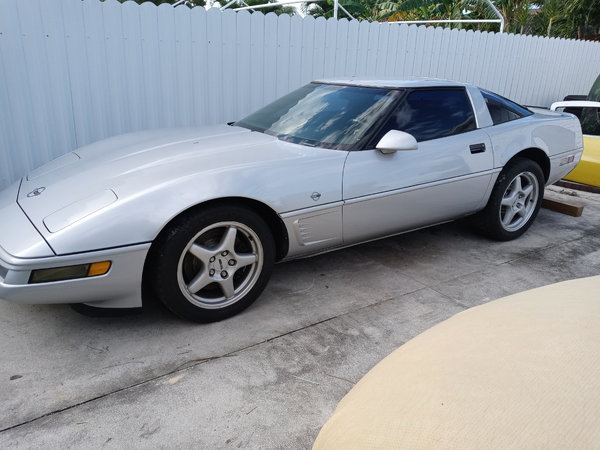 1996 TURBO CORVETTE COLLECTORS EDITION PROJECT  for Sale $6,900