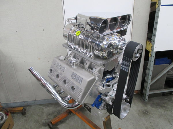 SBF Hemi Engine Supercharged