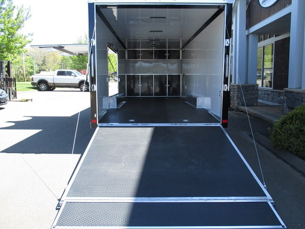 "ATC 8'6"" x 24' Raven Enclosed Car Hauler"