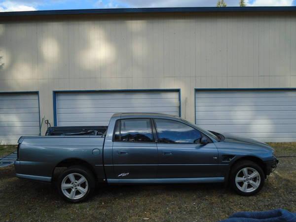 G8 2005 Australian HOLDEN CREWMAN 4 DOOR CREW CAB UTE EL CAM  for Sale $6,250