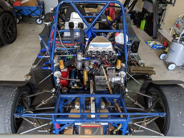 LMR Turbo Prototype Race Car (Built 500HP Hyabusa Engine)  for Sale $22,800