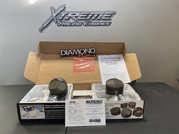 Custom Diamond Pistons for 4.8 Bore Hemi  for Sale $900