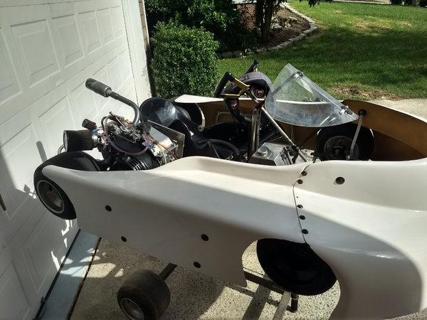 Laser AV-3 Racing go kart  for Sale $1,699