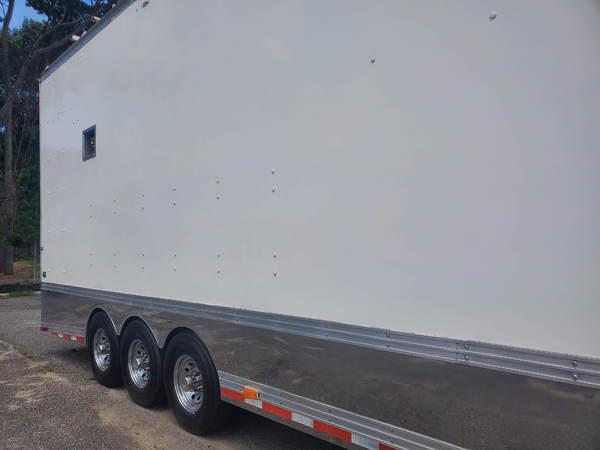 1999 Freightliner FL70 Toterhome w/ 40ft Stacker Trailer~Cat  for Sale $99,995