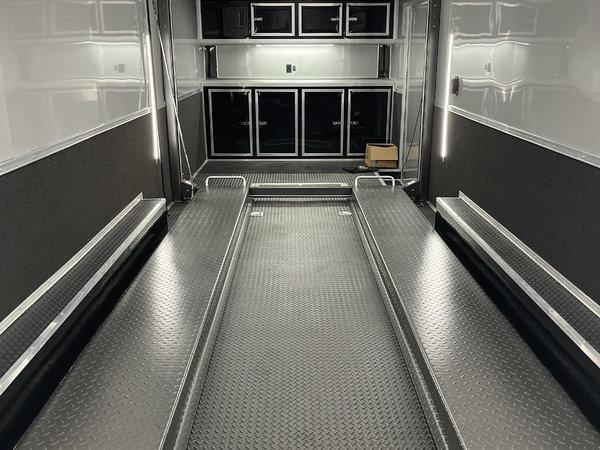 2022 30' Aluminum White Stacker  for Sale $63,000