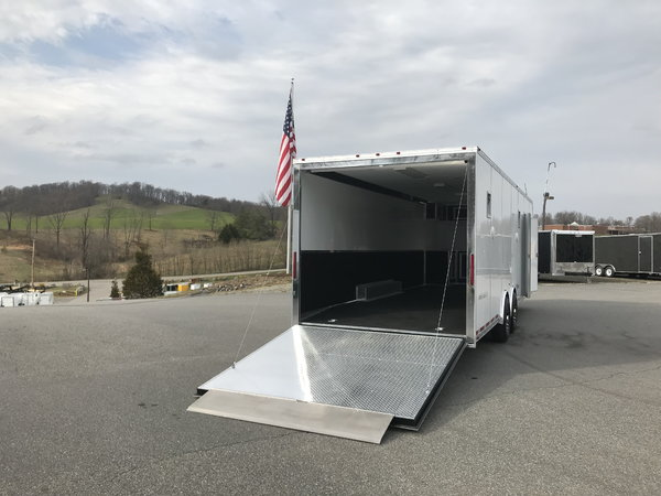 28' PRO-STOCK RACE TRAILER LOADED  for Sale $19,999
