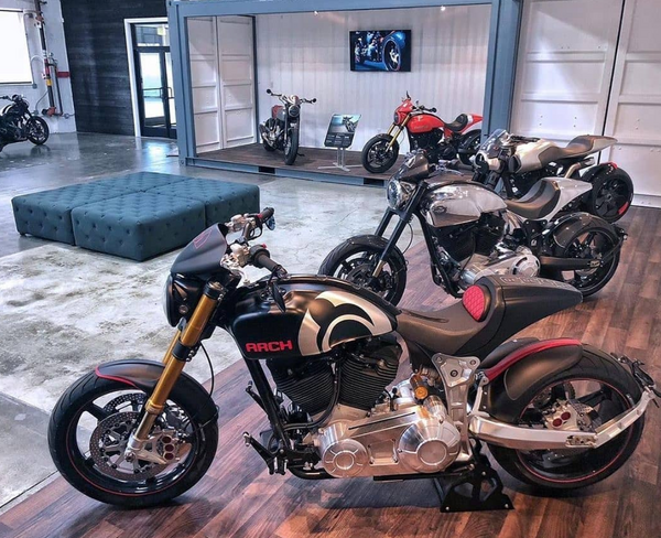 KRGT-1 Arch Motorcycle  for Sale $62,000