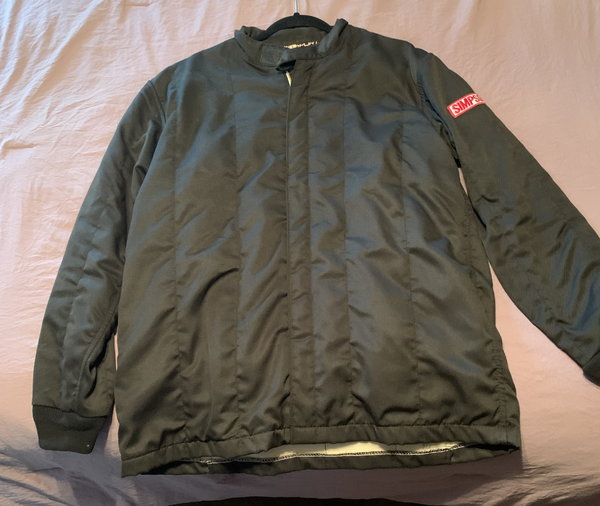 SIMPSON STANDARD 19 NOMEX FIRE JACKET LARGE SFI 3.2A/5  for Sale $220