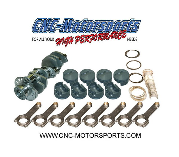 5.3L LS 363 Stroker Kit Mahle 9.2:1 Pistons *Boost*  for Sale $1,789