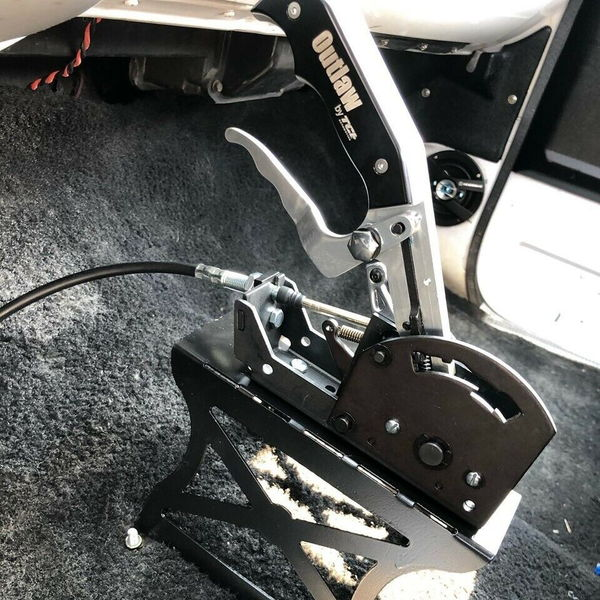 SHELDON MACHINE Tunnel Mount Shifter Stand for Auto Trans Ra