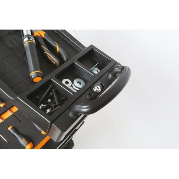 BETA TOOLS C27S-G FOLDING TOOL TROLLEY GRAY - 027000202  for Sale $599