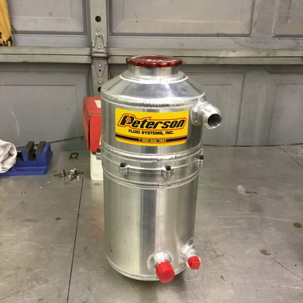 New Barnes 6 stage oil pump and Peterson Tank  for Sale $1,700