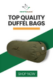 Heavy Duty Canvas Bags for Travel & Outdoors  for sale $24.99