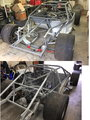 GT1 Speedway Road Racing rolling chassis