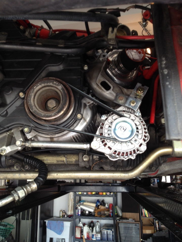 944 Turbo Nissan Alternator Mod  Reposted And To The Point