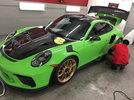 2018 Lizard Green GT3 RS Turned Matte!