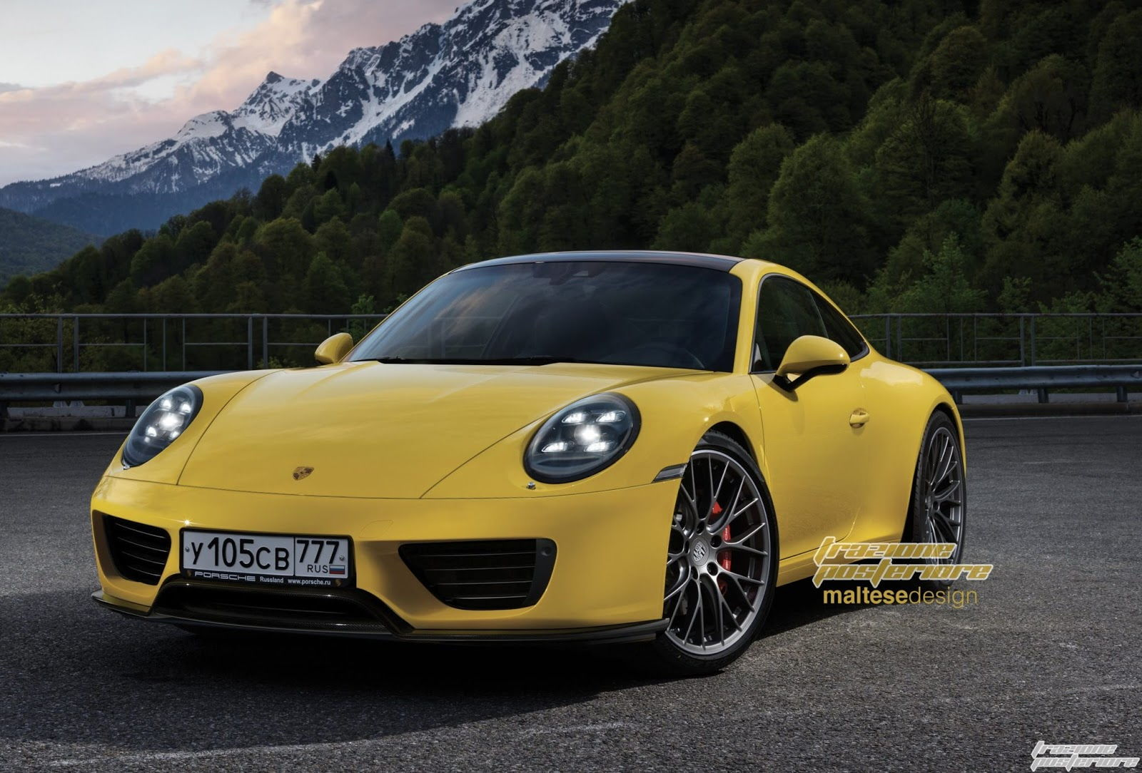 2019 porsche 911 rendering rennlist porsche discussion forums. Black Bedroom Furniture Sets. Home Design Ideas