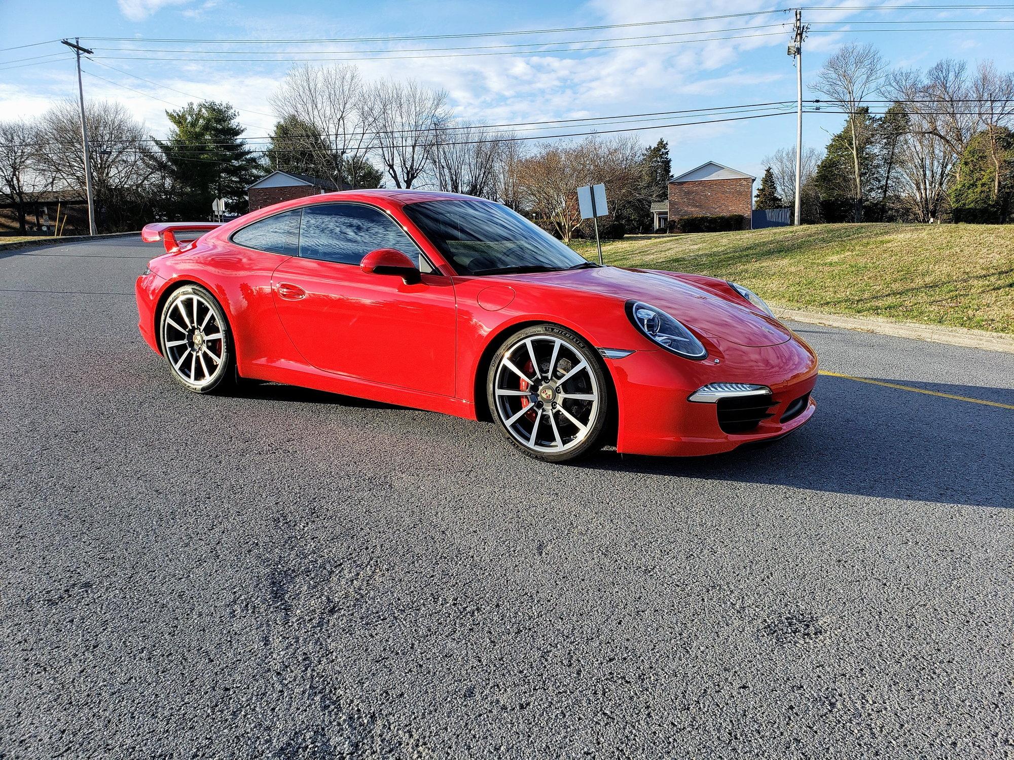 Dealer Inventory 2012 Porsche 991/911 Carrera S Guards Red - Soul