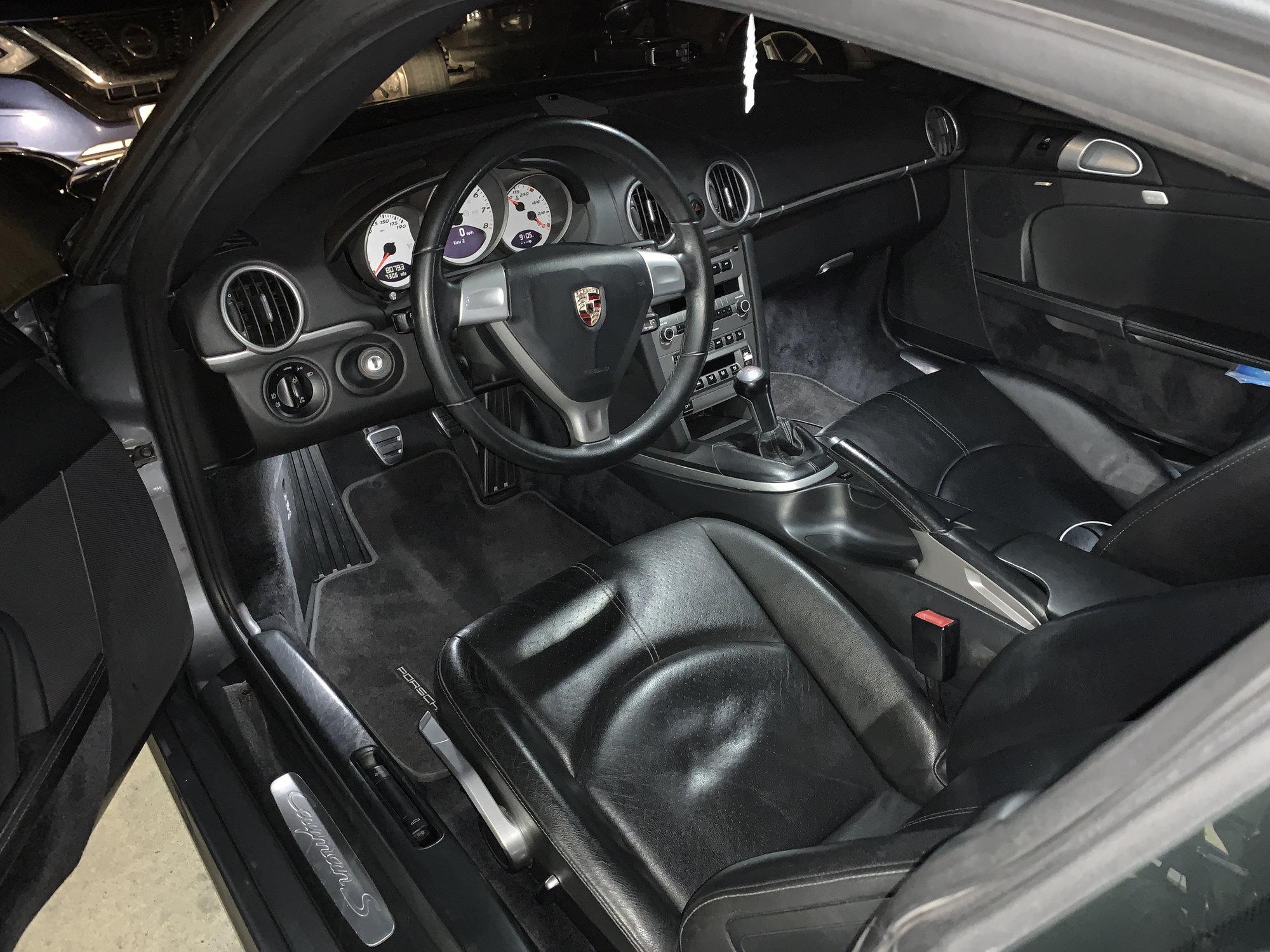Interior Upgrades To My 987 1 Cayman S Rennlist Porsche Discussion Forums