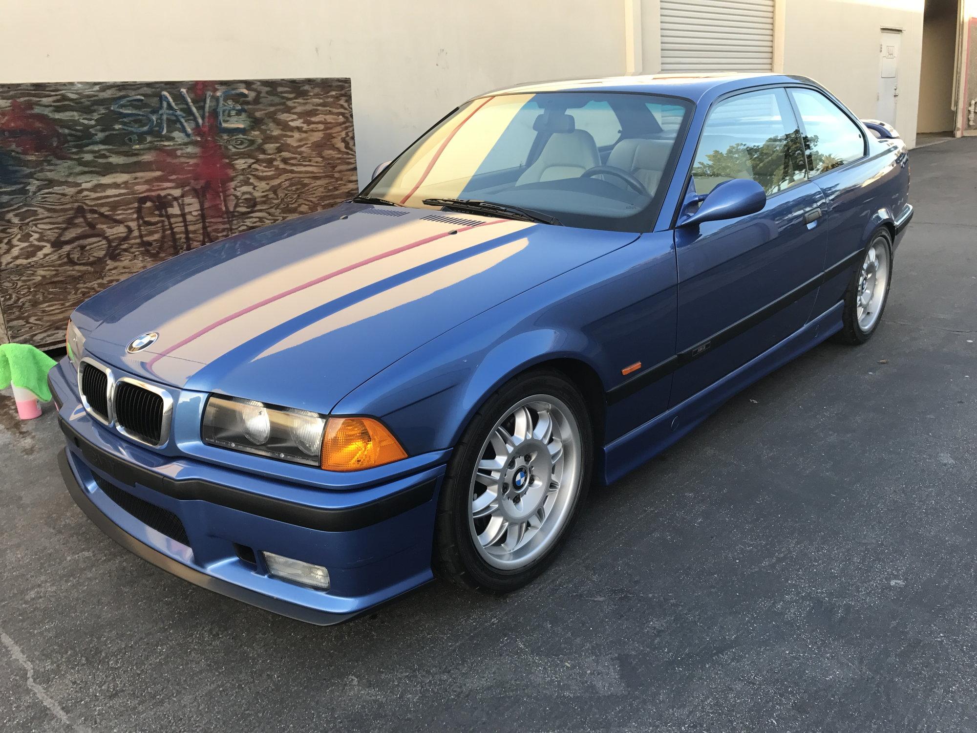 1997 BMW M3 Coupe 5 Speed One Owner 67k miles Estoril Blue ...