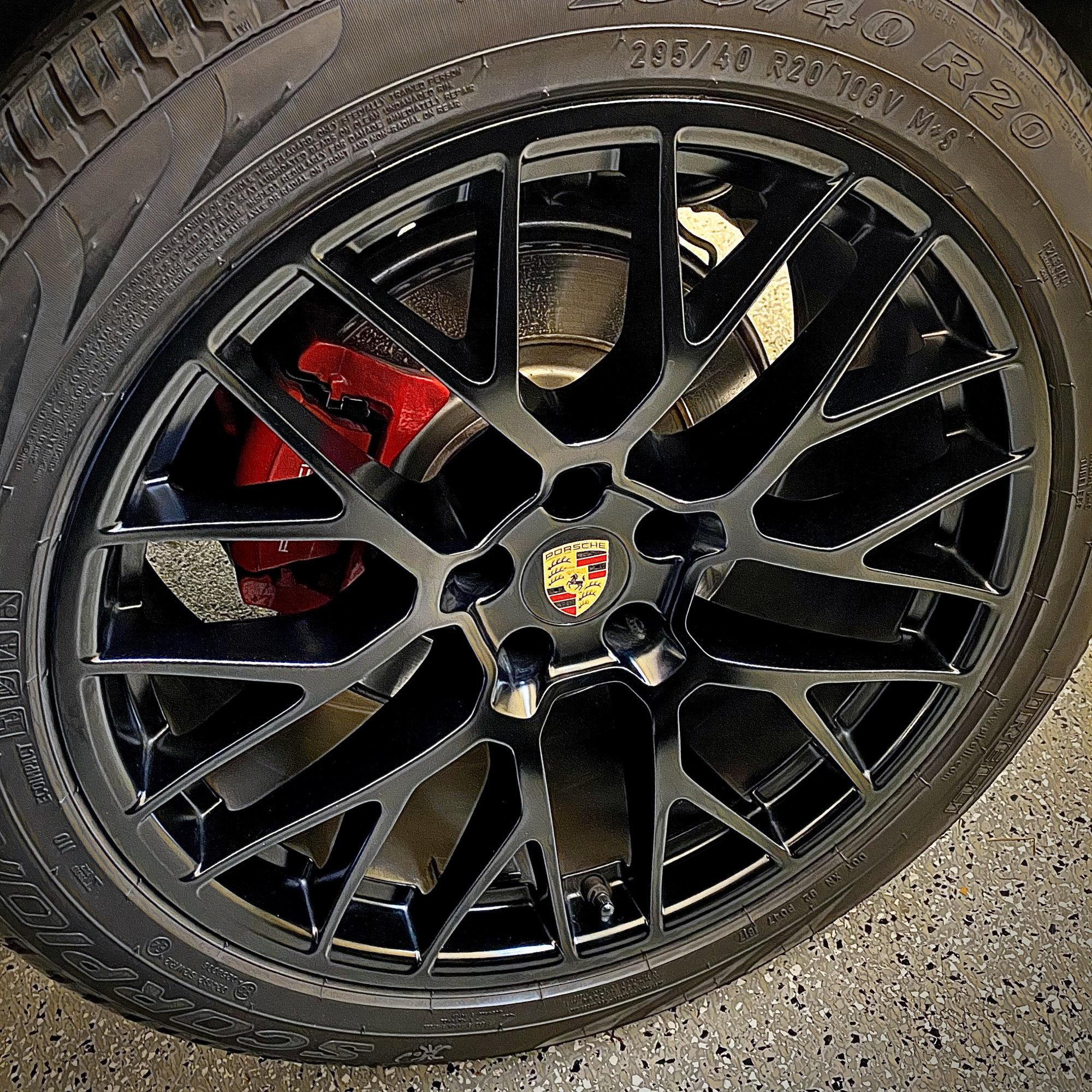 Black 20 Rs Spyder Wheels Rennlist Porsche Discussion Forums