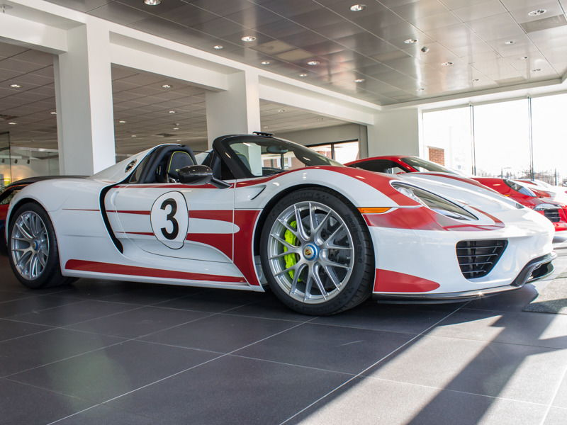 2015 porsche 918 spyder salzburg racing livery rennlist porsche discuss. Black Bedroom Furniture Sets. Home Design Ideas