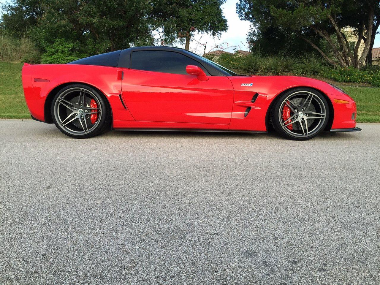 Chevrolet Corvette Zr1 On Hre Wheels 6speedonline