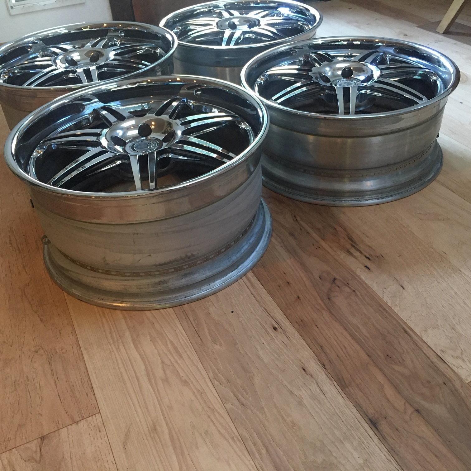 "Staggered 21"" HRE Aston Martin Wheels 21x9 21x10.5"